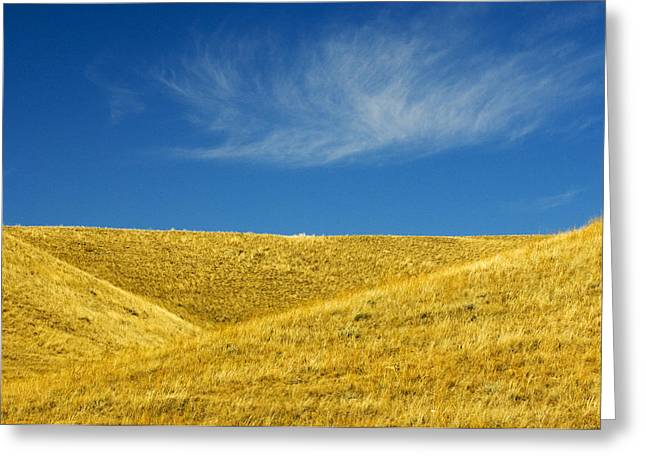 Cypress Hills Greeting Cards - Hills And Clouds, Cypress Hills Greeting Card by Mike Grandmailson