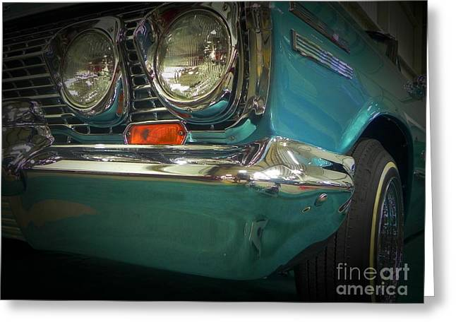 Tricked-out Cars Greeting Cards - Hipnotic Front Greeting Card by Chuck Re