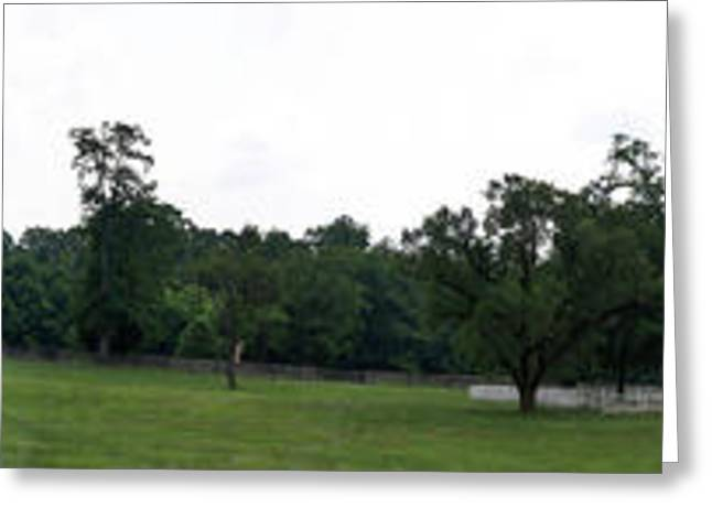 Civil Greeting Cards - Historic Appomattox Panorama  Greeting Card by Teresa Mucha