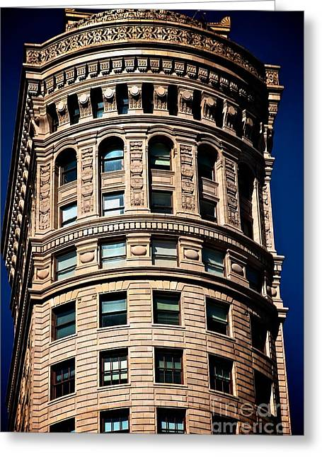 Mordern Greeting Cards - Historic Building in San Francisco - colour Greeting Card by Hideaki Sakurai
