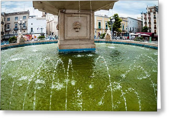 Historic fountain Greeting Card by Sabino Parente