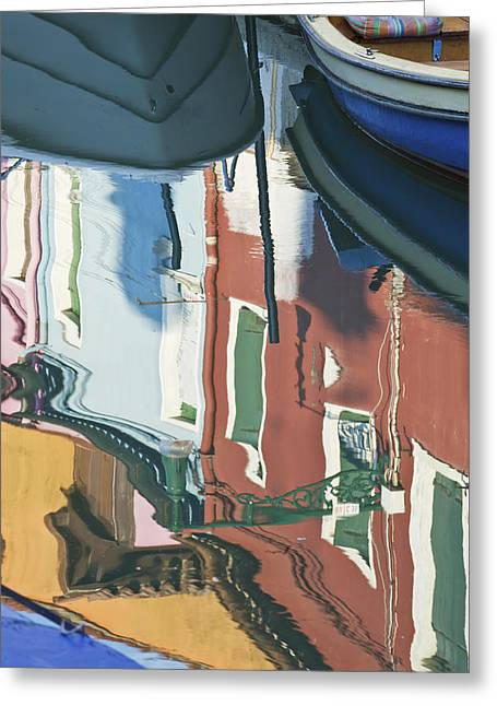 Residential Structure Greeting Cards - Historic Houses Painted In Different Greeting Card by Rob Tilley