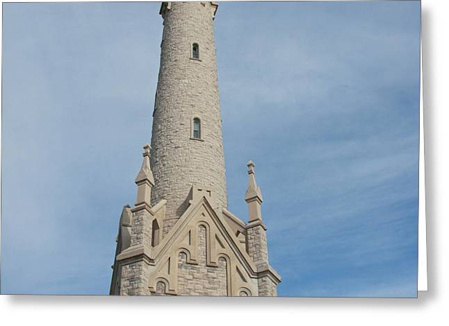 Historic Milwaukee Water Tower Greeting Card by Ann Horn