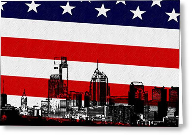 Philadelphia History Greeting Cards - Historic Philadelphia  Greeting Card by Bill Cannon