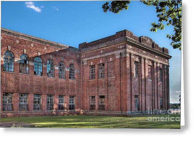 Tamyra Ayles Greeting Cards - Historic Veterans Hospital I Greeting Card by Tamyra Ayles