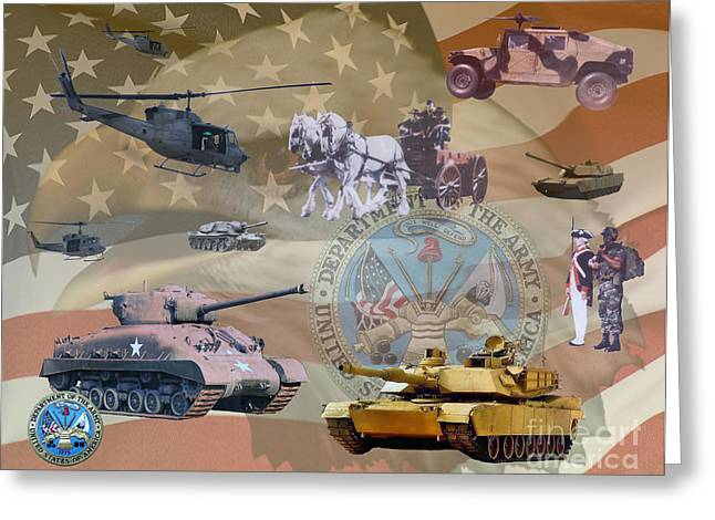 Gallantry Greeting Cards - History  Greeting Card by Ken Frischkorn