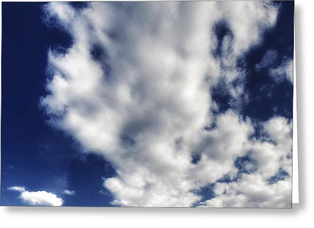 Hiway of Clouds Greeting Card by Laszlo Rekasi