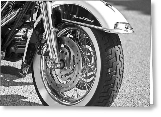 Mudguard Greeting Cards - Hog Wheels Greeting Card by Nomad Art And  Design