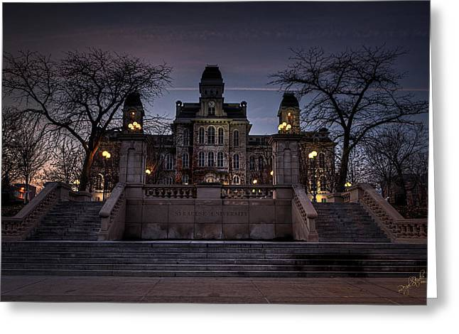 Hall Photographs Greeting Cards - Hogwarts - Hall of Languages Greeting Card by Everet Regal