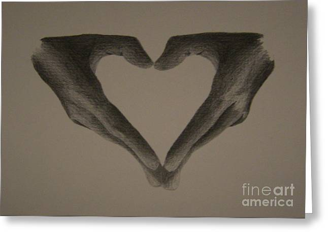 Fidelity Greeting Cards - Holding Love Greeting Card by Martijn Opsomer