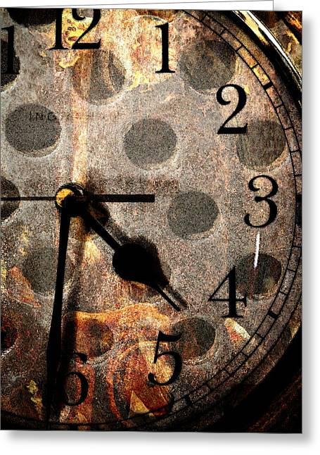 Mystic Art Greeting Cards - Holes In Time Greeting Card by Pam Walker