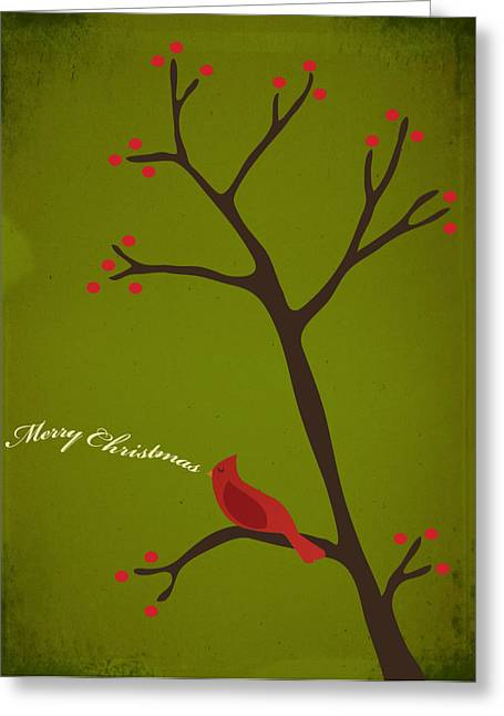 Holidays Greeting Cards - Holiday Greeting Greeting Card by Rhianna Wurman