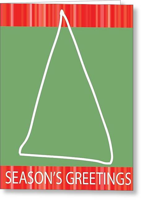 Postal Drawings Greeting Cards - Holiday Season 12 Greeting Card by Richard Lanctot
