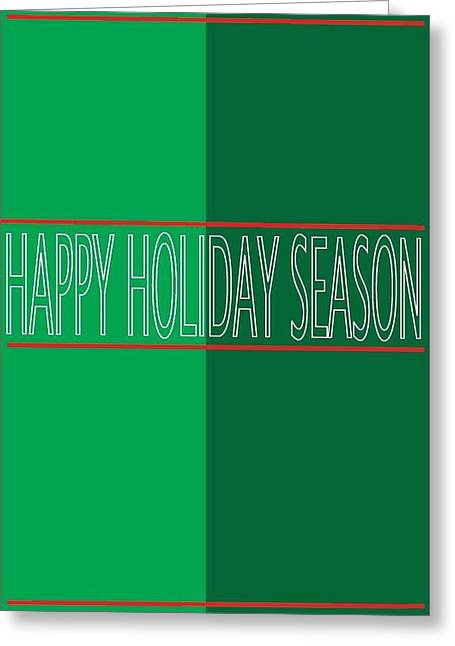 Postal Drawings Greeting Cards - Holiday Season 4 Greeting Card by Richard Lanctot