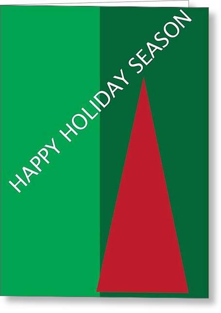 Postal Drawings Greeting Cards - Holiday Season 7 Greeting Card by Richard Lanctot