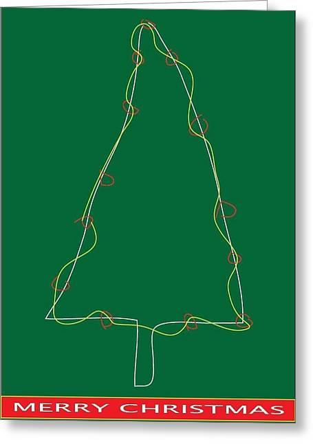 Postal Drawings Greeting Cards - Holiday Season 8 Greeting Card by Richard Lanctot