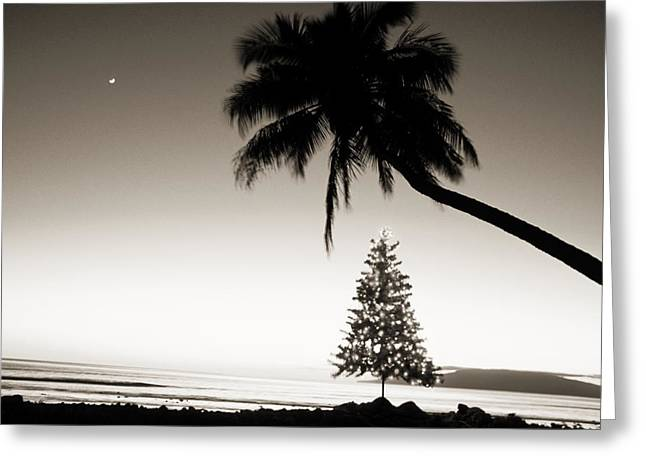 Culture Influenced Art Greeting Cards - Holidays in Hawaii Greeting Card by Ron Dahlquist - Printscapes