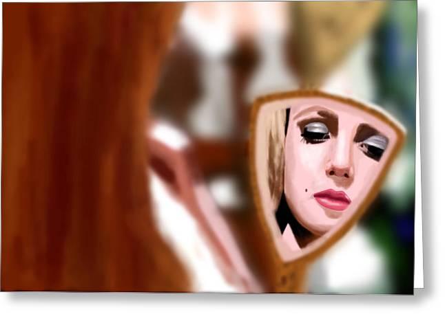 Inner Self Greeting Cards - Hollywood girl Greeting Card by Vava Fuller-quinn