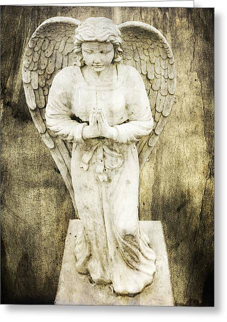 Buy Photos Online Greeting Cards - Holy Angels Greeting Card by Steven  Michael