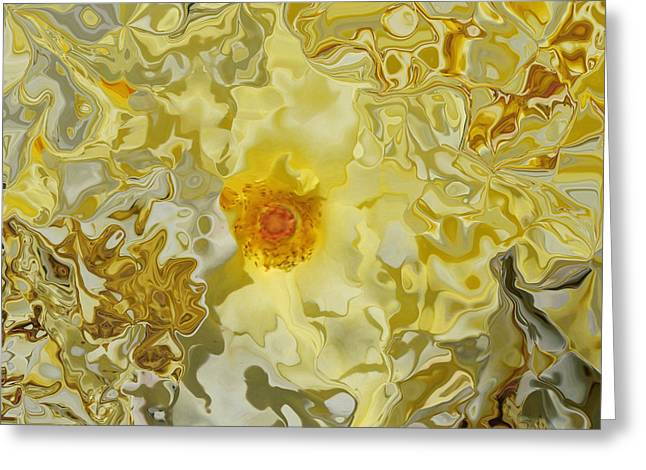 Homage To The Sun  Greeting Card by Daniele Smith