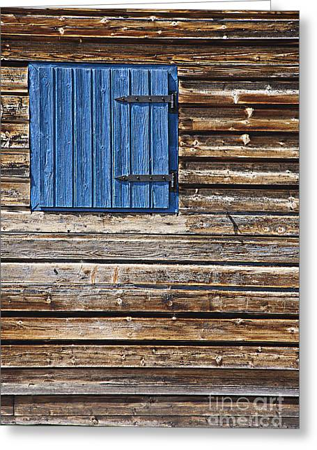Old Wood Cabin Greeting Cards - Home - Sweet Home Greeting Card by Heiko Koehrer-Wagner
