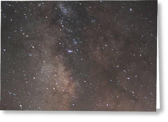Opt Greeting Cards - Home Galaxy Burning Hydrogen I Greeting Card by Carolina Liechtenstein