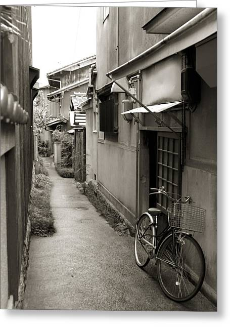 Kyoto Greeting Cards - Home in Kyoto Greeting Card by Jessica Rose