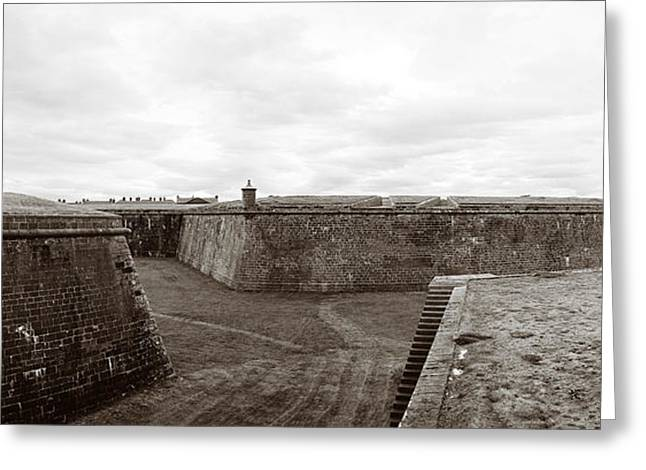 Fort George Greeting Cards - Home of the Black Watch Greeting Card by Jan Faul