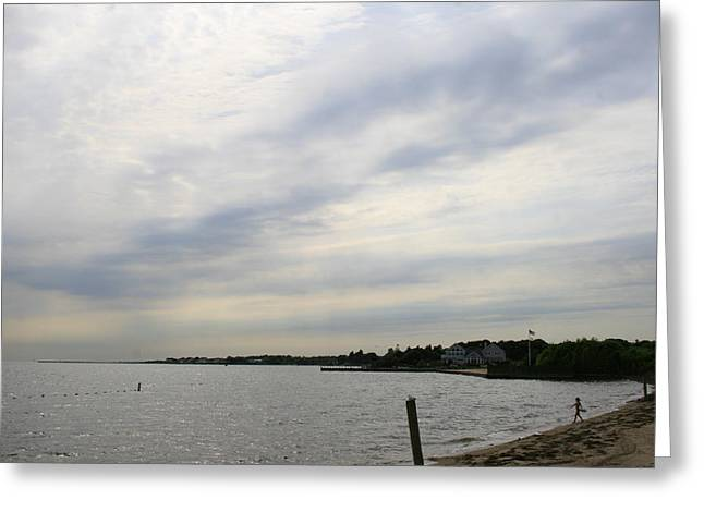 Long Island Photographs Greeting Cards - Home on The Bay Greeting Card by Christopher Kirby