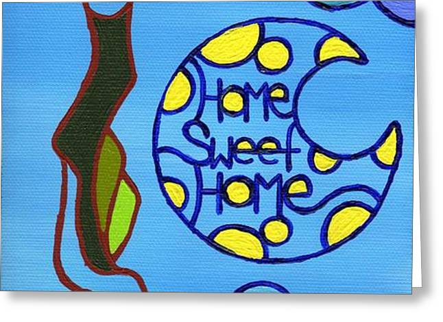 Home Sweet Home Greeting Card by Dan Keough