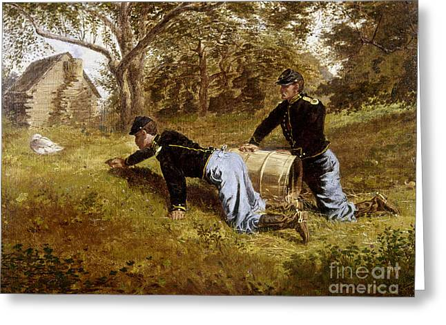 Winslow Homer Photographs Greeting Cards - HOMER: YORKTOWN, c1863 Greeting Card by Granger