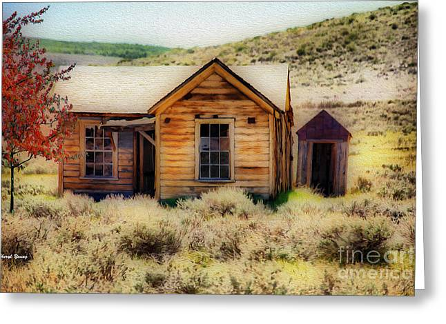 Prospector Greeting Cards - Homestead 2 Greeting Card by Cheryl Young