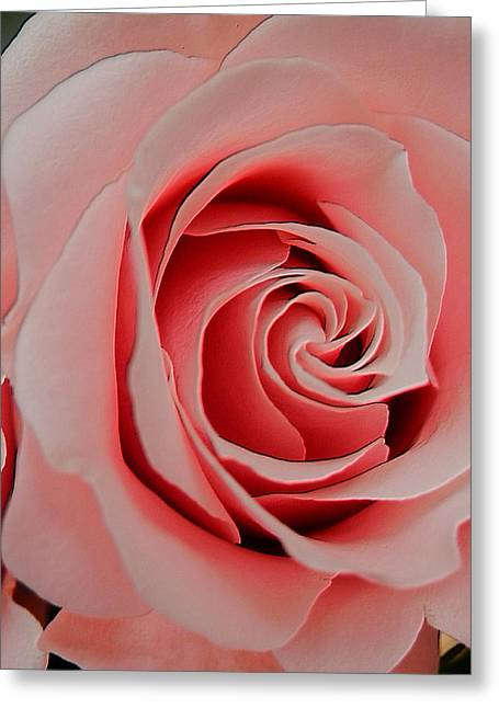 Hommage Greeting Cards - Hommage To OKeeffe Textured Greeting Card by Beth Akerman