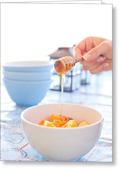 Syrups Greeting Cards - Honey Greeting Card by Tom Gowanlock
