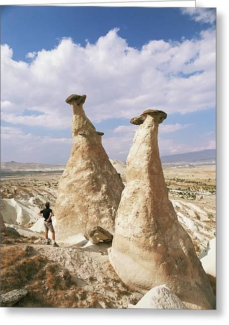 Geomorphology Greeting Cards - Hoodoo Rock Formations Greeting Card by Bjorn Svensson