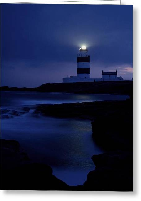 Cummins Greeting Cards - Hook Head Lighthouse, County Wexford Greeting Card by Richard Cummins
