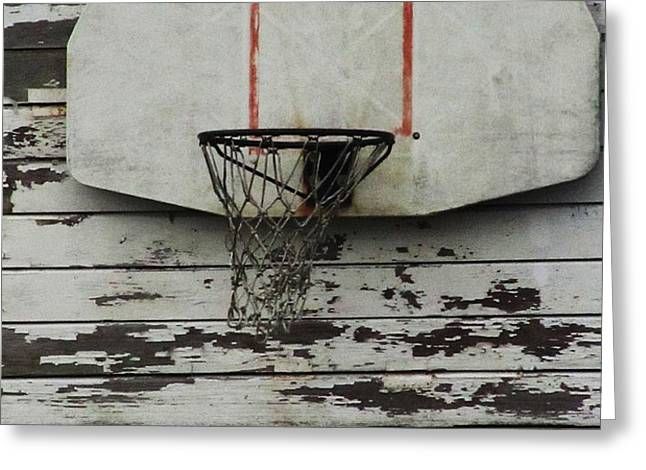 Hoops Greeting Card by TODD SHERLOCK