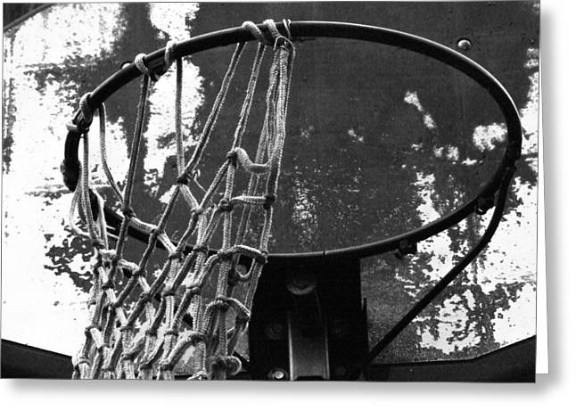 Hoops Photographs Greeting Cards - Hoosiers Dream Greeting Card by Michael L Kimble