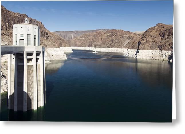 Hoover Dam Greeting Card by Gloria & Richard Maschmeyer