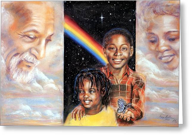 African-americans Pastels Greeting Cards - Hope Greeting Card by Gary Williams