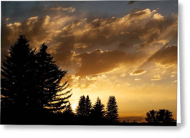 Sunset Posters Greeting Cards - Hope Greeting Card by Kevin Bone