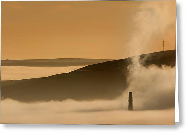 Inversion Greeting Cards - Hope Valley Greeting Card by Andy Astbury
