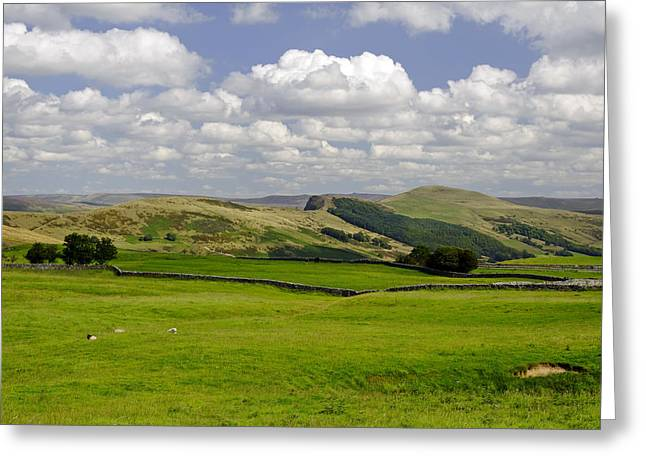 Hills Greeting Cards - Hope Valley from Winnats Head Greeting Card by Rod Johnson
