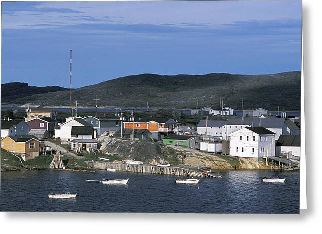 Hopedale Greeting Cards - Hopedale, Newfoundland & Labrador Greeting Card by Jerry Kobalenko