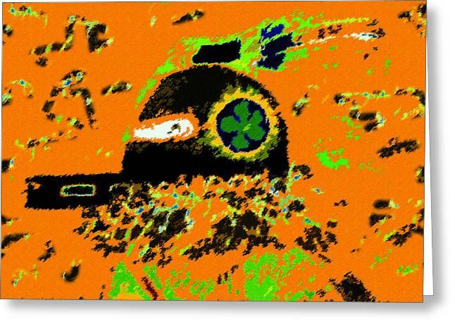 Kachina Greeting Cards - Hopi Kachina work number 4 Greeting Card by David Lee Thompson
