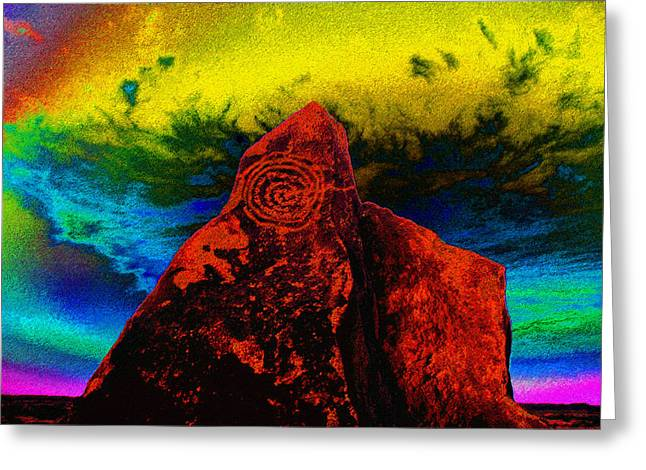 Religious Digital Greeting Cards - Hopi Sky Greeting Card by David Lee Thompson