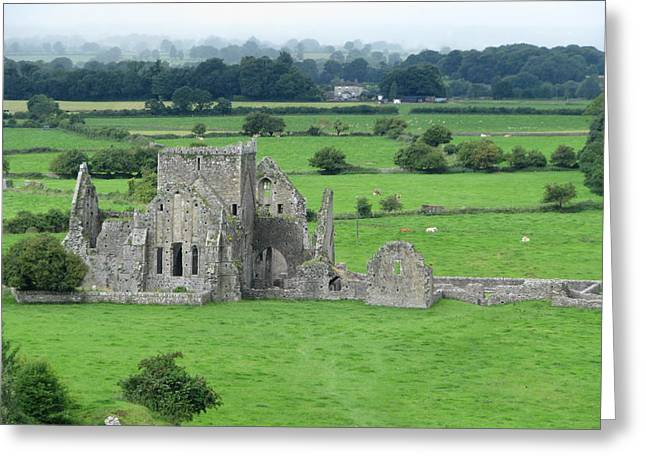 Hores Greeting Cards - Hore Abbey Greeting Card by Sheila Rodgers