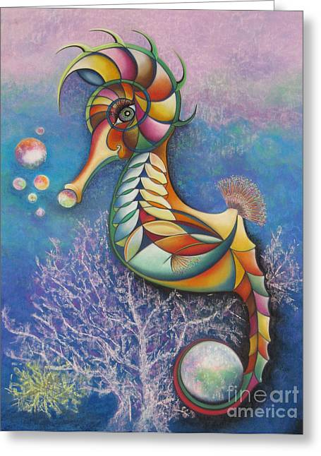 Tracey Levine Greeting Cards - Horse of a Different Color Greeting Card by Tracey Levine