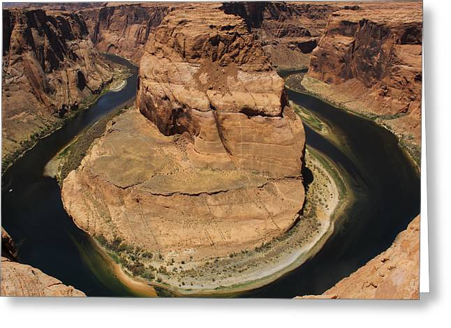 Horseshoe Greeting Cards - Horseshoe Bend Greeting Card by Mike McGlothlen