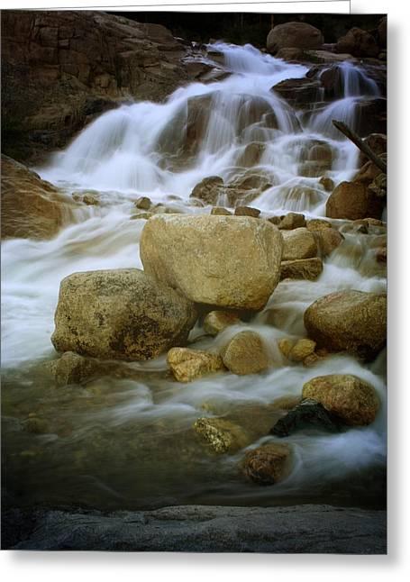 Horseshoe Falls Greeting Cards - Horseshoe Falls Greeting Card by Ellen Heaverlo